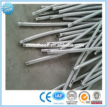 High pressure no leakage stainless steel braided flexible metal tubing
