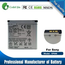 li-ion battery 3.7v 1200mah for Sony Ericsson EP500 U5i/U8i/X8/E15i/E16i