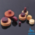 Best selling piercing jewelry wood earrings plugs wholesale