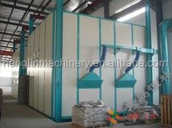 hot sell sand blasting room for cleaning large casting forging weld parts