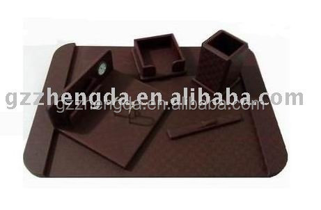 High quality customized made-in-china Leather Office Desk Set for Customer(ZDS-022)