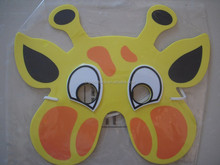 2014 eva rubber animal mask for kid/custom eva mask/eva foam mask child