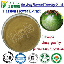Medical grade ISO manufacture supply passiflora herb extract powder