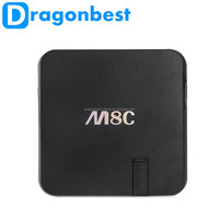 Hot Selling Android Tv Box M8C Android tv box M8C M8S android 4.4 with Camera