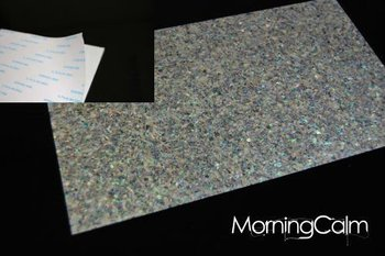 Paua Sparkle Self-Adhesive Veneer Sheet (Mother of Pearl MOP Shell Overlay Inlay Luthier Nacre)