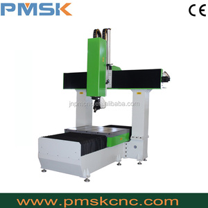 jinan pinmai cncmachine china top brand 5 axis cnc stone router vem spindle