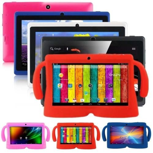 7 inch Q88 Tablets Quad Core AllWinner A33 1.2GHz Android 4.4 512MB RAM 4GB ROM Bluetooth WiFi OTG Tablet