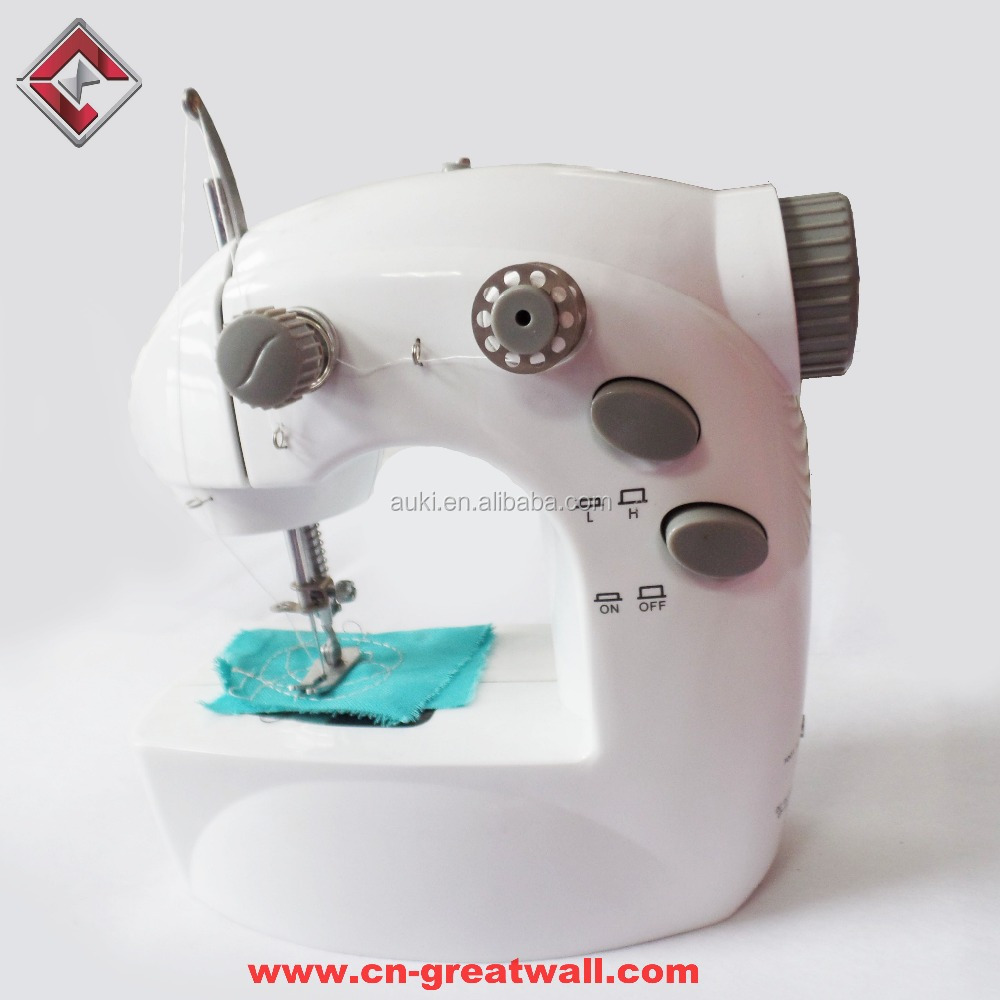 Home use Mini sewing machine, factory price of small and portable sewing machine