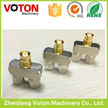 1.6-5.6 Double Male to Female Y Shape U-Link Adatpor rf connector