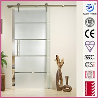 Frameless Large Interior Glass Sliding Doors (KT9002)
