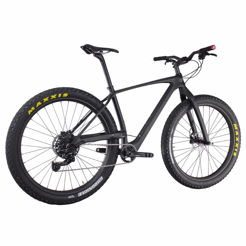 29er Plus Carbon Frame Ican Bulk Bike Parts 29 Carbon Fiber