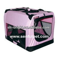 Deluxe Portable Soft Crate for cats and dogs