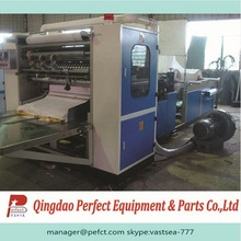 Kitchen and toilet usage v fold paper hand towel making machine