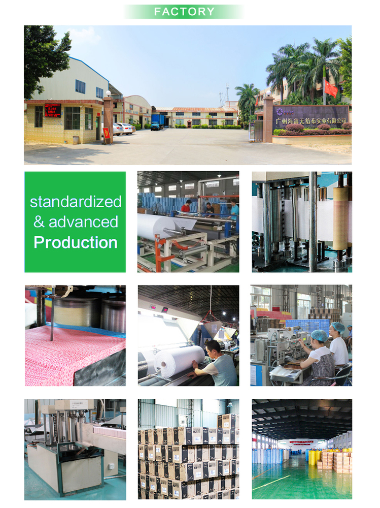 OEM factory household wholesale chemical bond nonwoven cleaning products