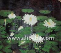 African Oil Painting (Pond)