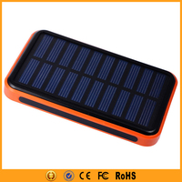 External Waterproof Power Bank Solar 30000mAh with LED Indicator