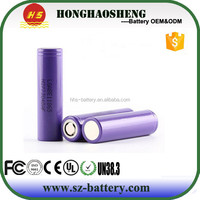Hot selling 18650 li ion battery E1 18650 3200mah battery cell for LG 3.7v