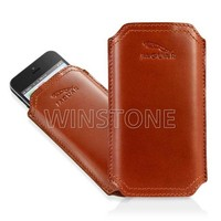 New Design Real Leather Mobile Phone Case