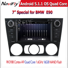 Car radio Player with full functions for B-M-W- E90 3 Series (2005 Onwards) Saloon with Full HD 1024*600 Capacitive Touc