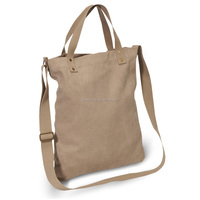 Canvas shoulder bag with handle in good quality shenzhen factory price