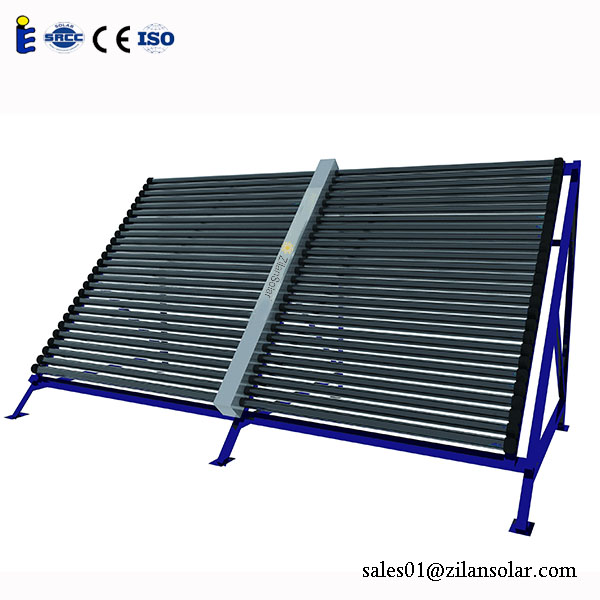 vacuum tube 2 wings solar collector for swimming pool