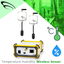 New Design Smart wireless alarm sensor Temperature Humidity house alarm