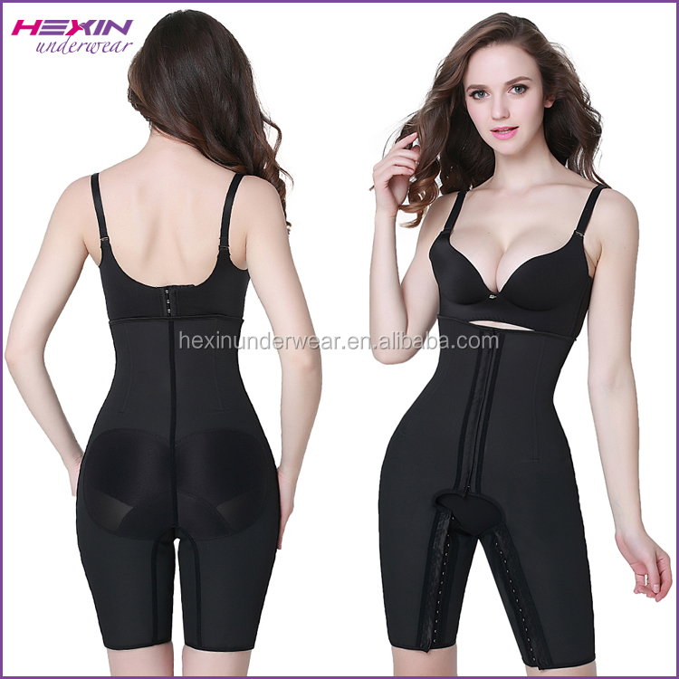2016 Hot Ladies Cheap Slimming Full Latex Body Shaper Rubber Girdle