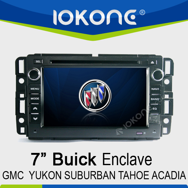 "7"" HD Touch screen 2din gps buick enclave"