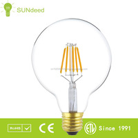 Special shape Vintage edison style flexible Soft spiral A60 G80 T30 ST64 g95 LED filament bulb