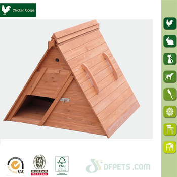 Weather Proof Wooden House For Chicken
