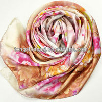 luxry digital print scarves silk