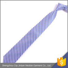 China Factory Colorful Adjustable Silk purple color ties For Uniform