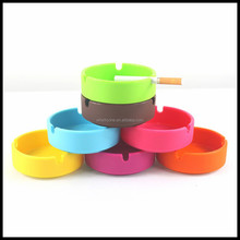 Free samples cheap colorful silicone ashtray oem