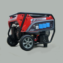 5KW portable hand operated gasoline generator with air filter low rpm