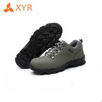 High quality rubber sole unisex steel toe liberty woodland safety shoes