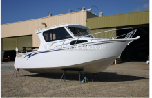 Lifestyle aluminum enclosed cabin cruiser fishing leisure boat