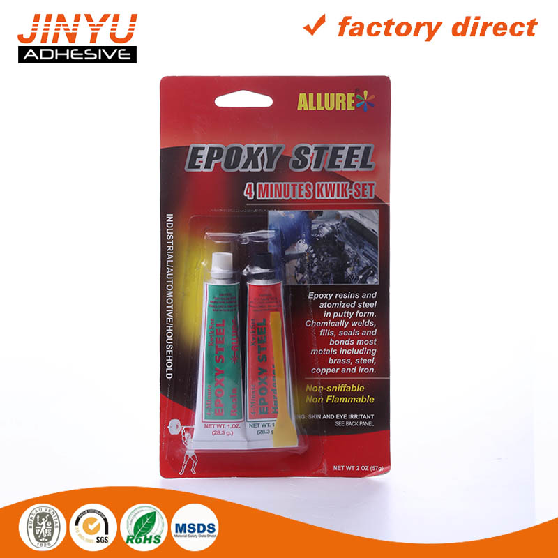 Instant liquid Epoxy Steel Adhesive two parts glue