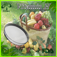 Biotin manufacturers supply best vitamin biotin price/pure biotin