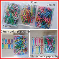 Wholesale simple paper clip economical school and office stationery clip