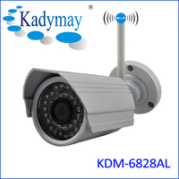 HD 720P 2.0MP cmos sensor ip camera outdoor waterproof wireless ip camera with Onvif ,p2p support 2 way audio