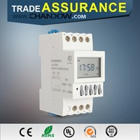 Trade Assurance 230v din rail battery powered timer switch