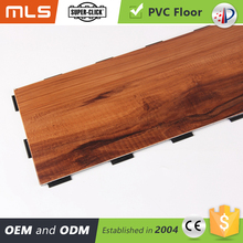 Easy Install Lock Pvc Wood Colour Vinyl Plank Flooring Click Locking System