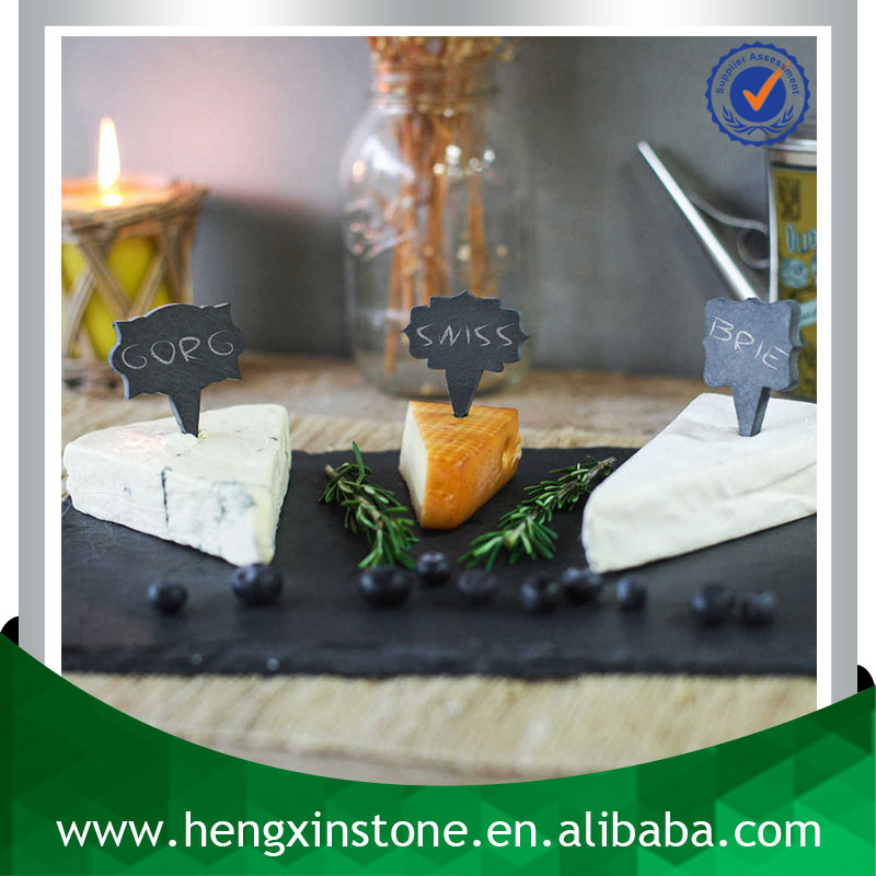Factory Direct Price 36*31.5cm Handmade Decorative Natural Slate Stone Photo Frame(Customized Laser Design)