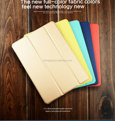 Marketable leather case for iPad air2, Eco-friendly Folding Stand Magnetic Smart Leather Case for ipad air 2