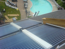 Ousikai Swimming Pool Solar Collector, Manifold