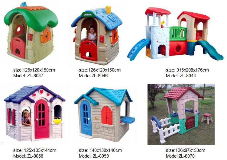 Factory price ergonomic design play house for children