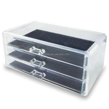 Top Grade Acrylic Jewelry and Cosmetic Storage Display Box Case