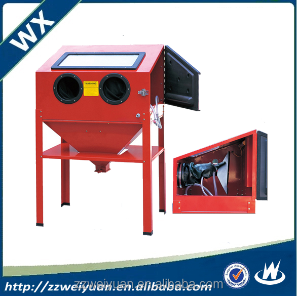220L Cheap Price Industrial Portable Manual Sandblasting Machine WX-220L