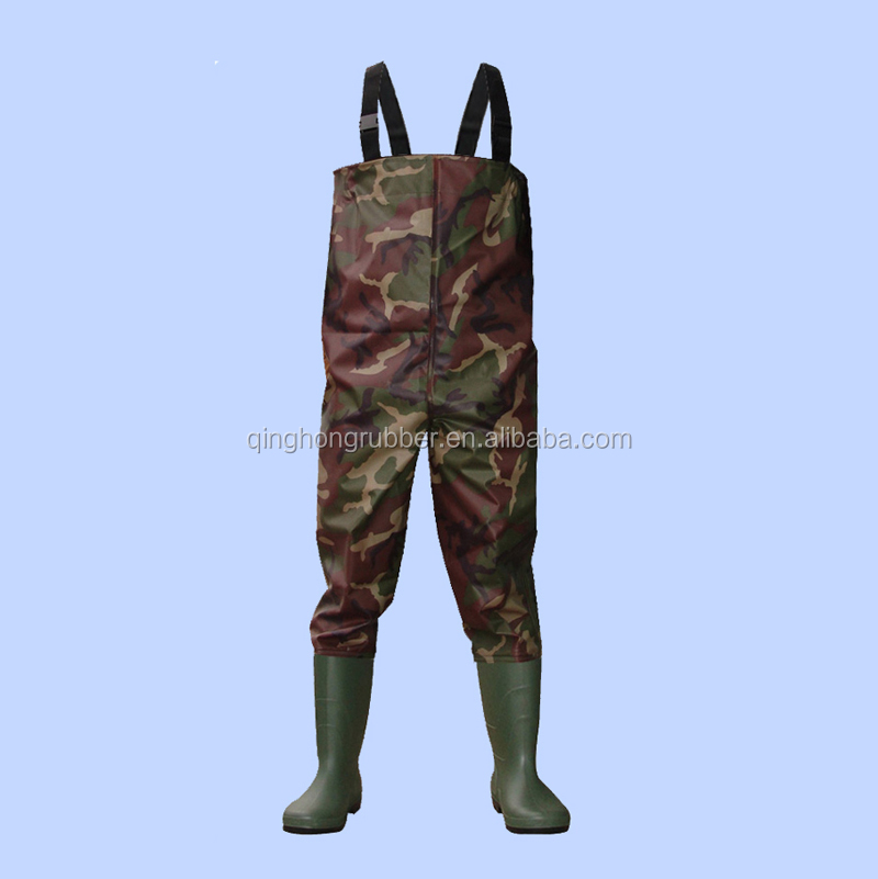 high quality wholesale china rubber fishing waders