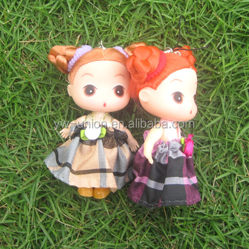 12 inch plastic mini craft baby dolls